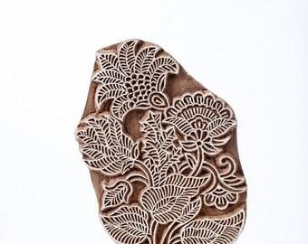 50% off Sale Hand carved wood stamp 298