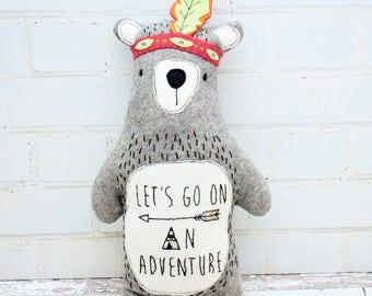 Wilderness Bear Softie Kit