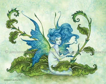 5x7 Enchantment fairy PRINT by Amy Brown
