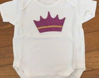 Christmas Onesies - Purple Crown