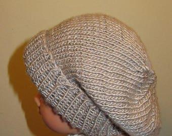 40% OFF SALE instant digital file pdf download Baby Silver Silk Super Slouch pdf knitting pattern  -  madmonkeyknits