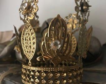 Crown, metal, Vintage