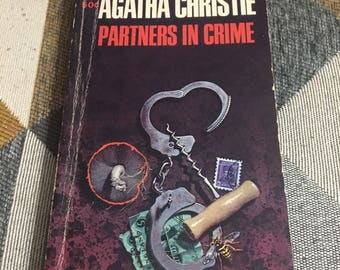 Vintage 1967 Agatha Christie Partners In Crime Paperback Book