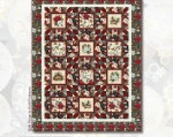 Holiday Trimmings Quilt Kit