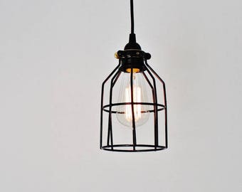 Fish Bowl Pendant Lamp Hanging Pendant Lamp Made From A