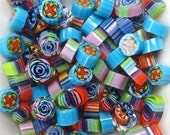 COE 104 Hard Candy by Lori and Kim Murrini Millefiore Murrine