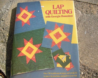 Vintage Book Lap Quilting with Georgia Bonsteel