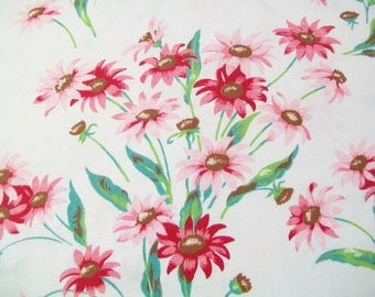 Wilendur Linen Towel, Pink Floral, kitchen, towel, tea towel