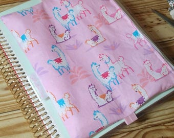 Llama llama Pencil pouch, Zippered planner band, planner bag, life planner accessory, planner accessories, planny pack, zip pouch