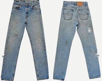 70s High Waist Jeans Womens 70s Jeans BRAXTON High Waisted