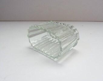 Diner Restaurant Glass Sugar Packet Holder Mid Century