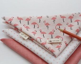 Lovely Flamingo PINK Set of 3, U349