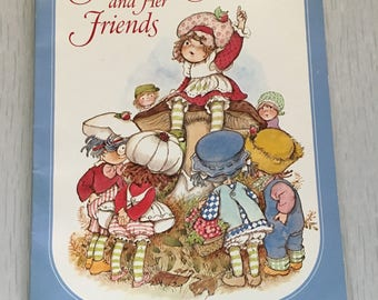 Large soft cover Strawberry Shortcake and her Friends book 1980
