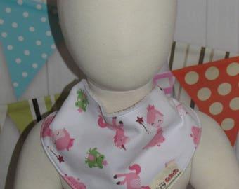 new baby toddler girl  one piece bandana bib FREE shipping with 25 dollars purchase