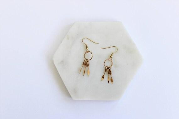 Minimal Boho Wire Earrings II