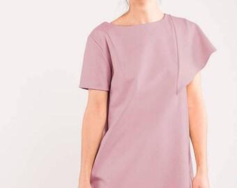 SALE - Disco dress | Dusty pink dress | Rose quartz dress | LeMuse disco dress