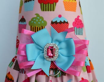 Dog Harness Vest - Cupcake - Dog Harness Dress