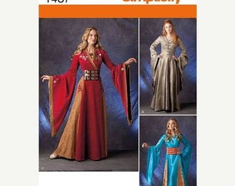 Fairies of the Forest Costumes--Womens Multi Sizes 6-12  UNCUT Patterns 40-50% off Patterns n Books SALE