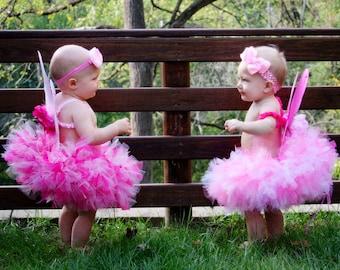 Baby Girl Costumes | Fairy Costumes | Halloween Costume Baby Girl | Baby Halloween Costume | Pink Butterfly Tutu Costume | Strawberrie Rose