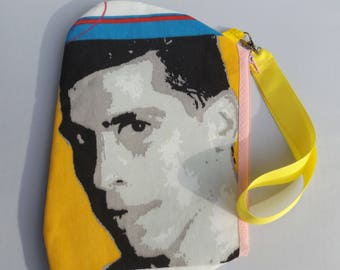 New Kids on the Block Wristlet / Pouch -- Handmade NKOTB....   Danny