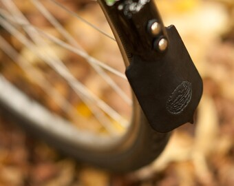 Leather Bicycle Mud Flap - For Classic Bike Fenders