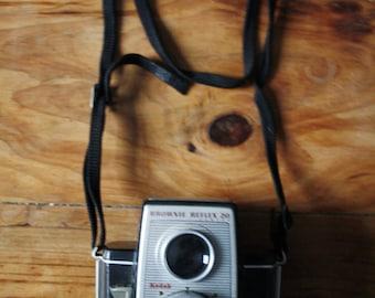 Kodak Brownie Reflex 20 film camera, vintage photography