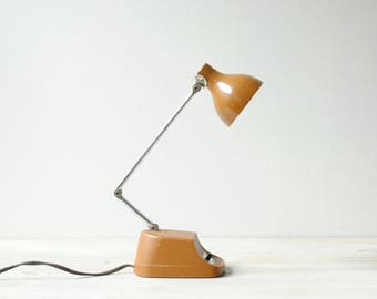 Vintage Desk Lamp, Mobilite Lamp, Retro, Mid Century Light