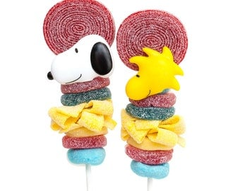 Snoopy themed Candy Kabobs - 6