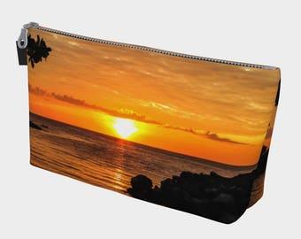 Golden Sunset Make Up Case