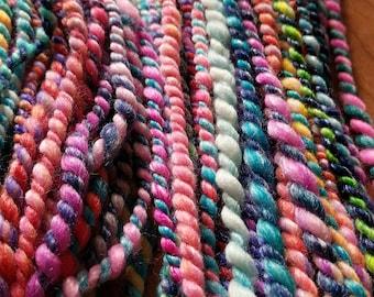 Panda - Bulky handspun art yarn