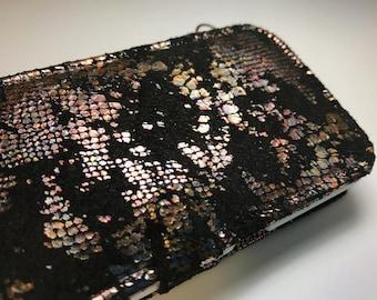 Black Leather galaxy s9 wallet case galaxy s9 Case galaxy s9 phone wallet