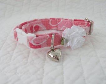 Shabby Chic Mini Dog Collar