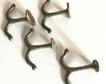 Set of Four Double Sided Ceiling Hooks