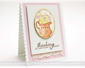 Thinking of You Today and Always Greeting Card - ToY 006