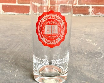 Vintage Indiana University Glass