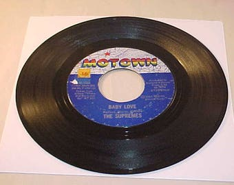 The Supremes 45 Vinyl Record - Baby Love / Ask Any Girl