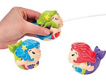 Mermaid Squirt Toys set of 3