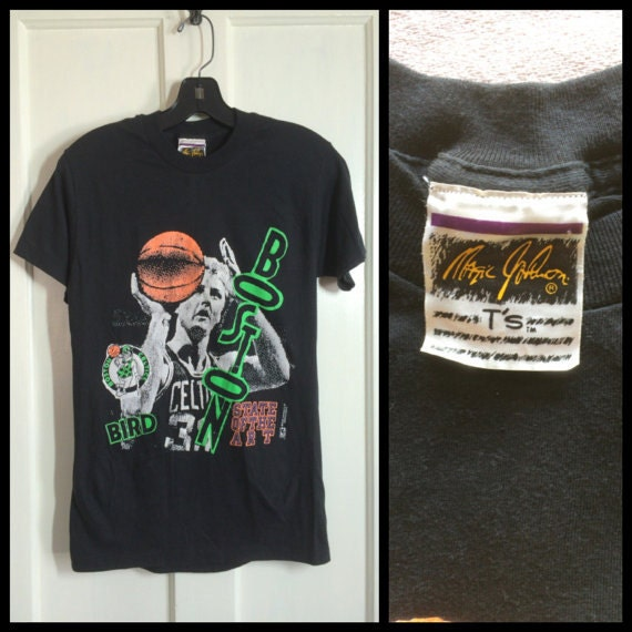 1980s Boston Celtics Larry Bird t-shirt