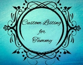 Custom Listing for Tammy, Customized Antique Bronze Anchor Necklace