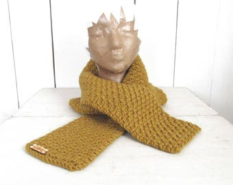 Long Winter Scarf Knit Scarf Crochet Scarf Handmade Mens Scarf Womens Scarf More Color Options