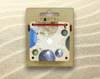 Nine Cards Puzzle - - PORTELPUZZLE 004 - - SPHERES