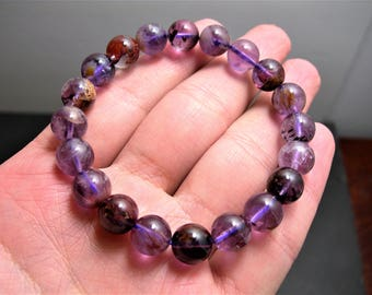 Super seven - 20 beads - 10mm - 27 grams - melody stone - SS10