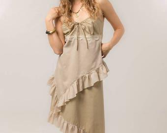 BIG SUMMER SALE 25% Off Gypsy Dress - Bohemian summer dress - linen dress -  Women's clothing