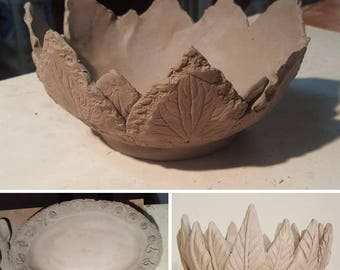 Pottery Class It's all about Platters and bowls