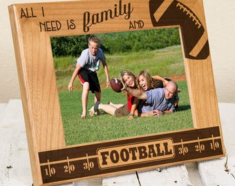 Personalized Football Frame - Sport Frame - Player Gift - Family Gift