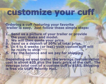 How To Order Your Custom Trailer Hitch Cuff
