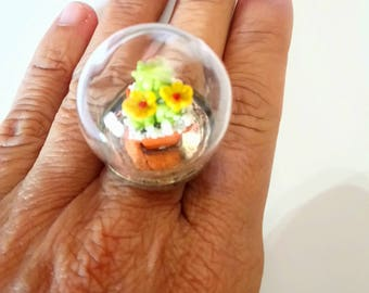 Bubble Ring, gift for women