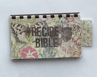 Handmade Chocolate 'Recipe Bible' Blank Recipe book for Personal Recipes