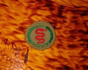 Vintage Boy Scouts Merit Badge