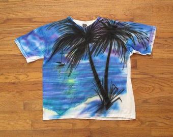 vintage airbrushed t shirt